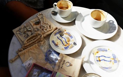 frukost med smycken