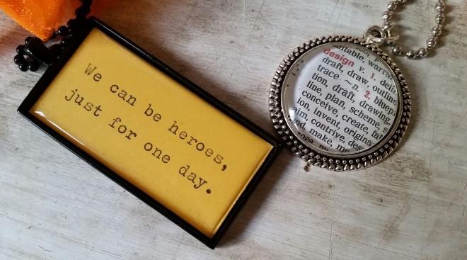 Halsband med citat
