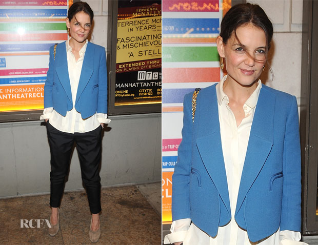 Katie-Holmes-In-Chloé-The-Other-Place-Broadway-Opening-Night-Performance