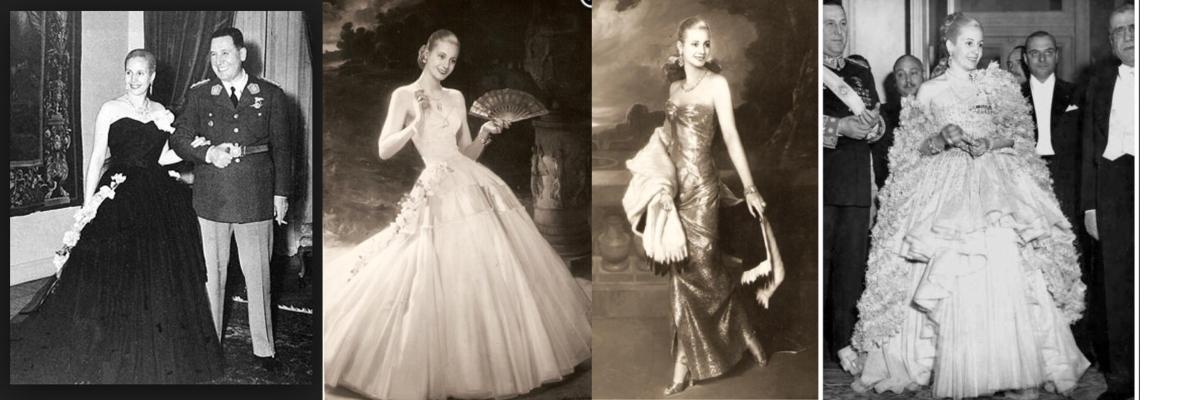 """Makt och stil, del 1 Stilikonernas stilikon """"Evita"""""""