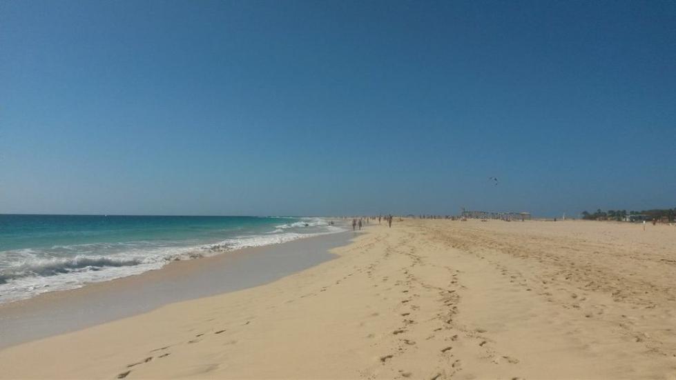 stranden kap verde