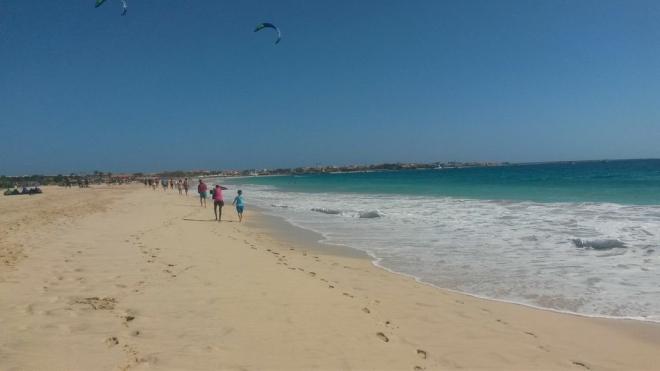 strandpromenad in till Santa Maria