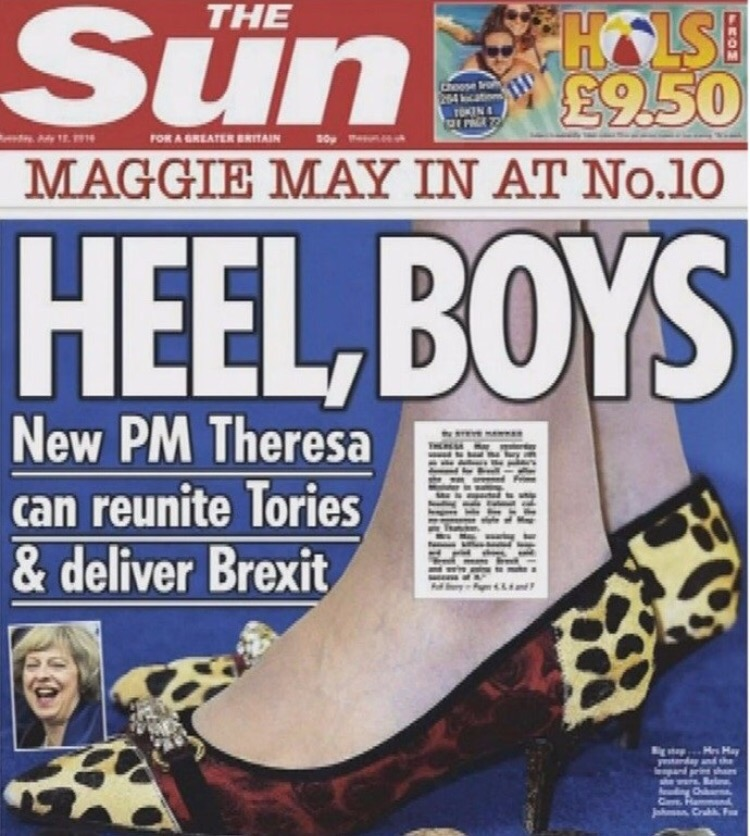Theresa med skoskav